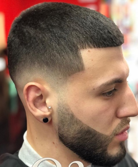 Buzzcut and Shape Up plus Disconnected Beard for men