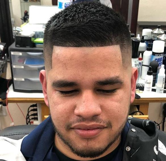 Comb Over Haircut Taper Fade