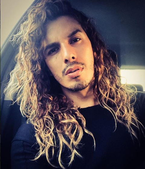 Long And Curly Hairstyle