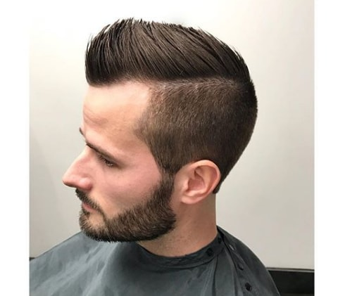 Faux Hawk Men Haircut
