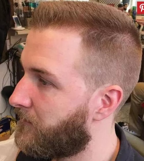 Fine Hair - Flat Top Men Hairstyle