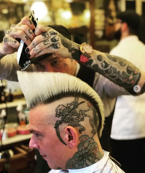Mohawk With Flat Top Men Hairstyle