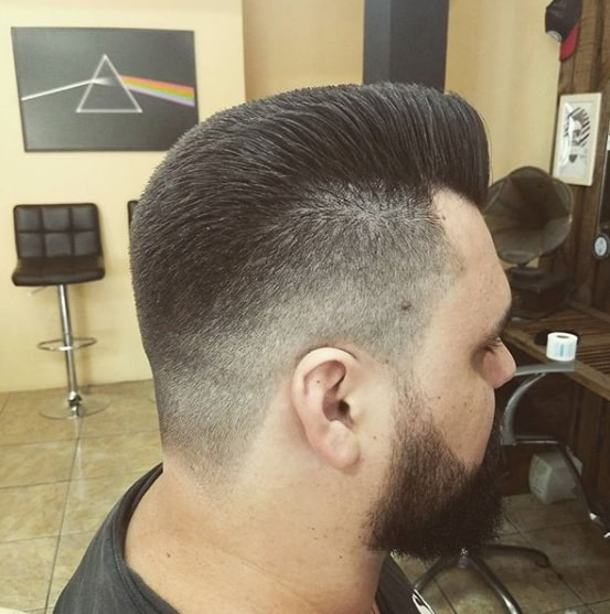 Flat top Men Hairstyle 2018
