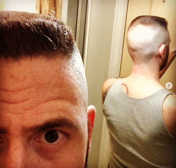 Shaved Sides and Back with Flat Top