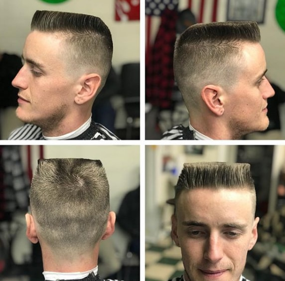 Flat Top Hairstyle for Men
