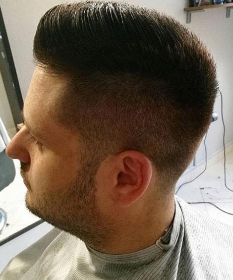 Flat Top Men Hairstyle