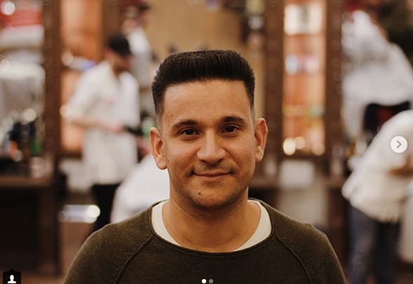 high and tight flattop men hairstyle