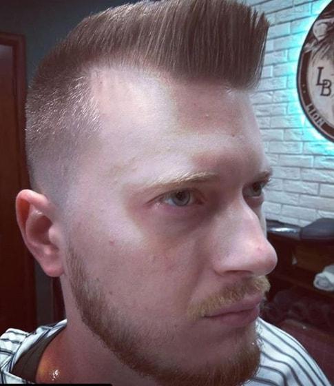 flat top hairdo for men
