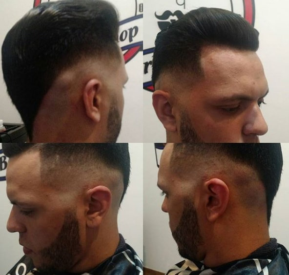 Funky Flat Top Hairstyle for Men