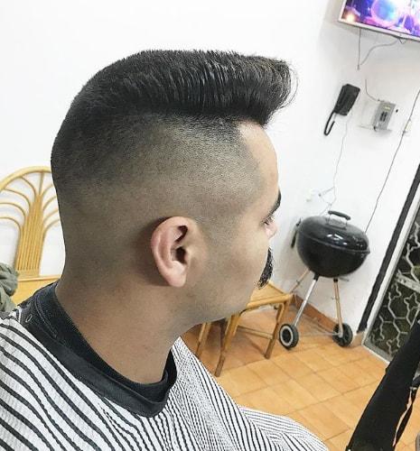 Stylish Flat Top Men Hairstyle