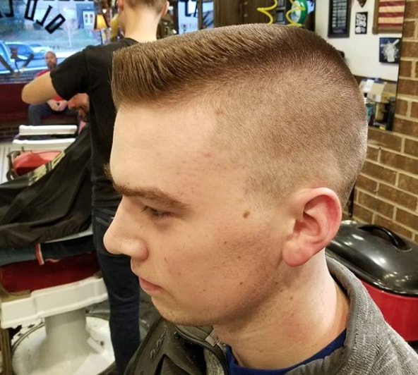 flat top style for men