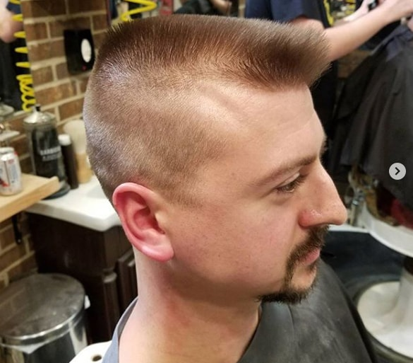 Fine Hairs with Flat Top for Men
