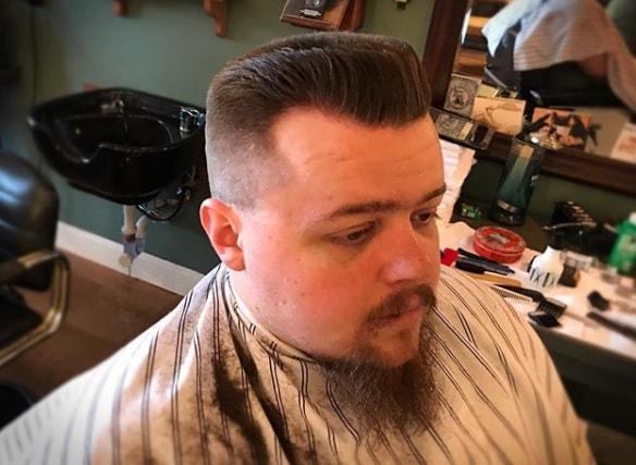 Medium Length Flat Hairstyle for Men