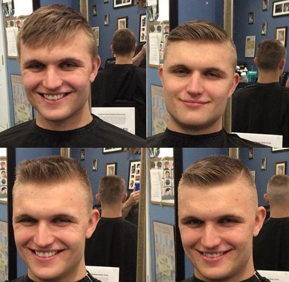 Short Flat Top Boy Haircut