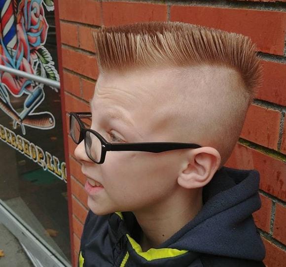 Mohawk Flat Top Boy Haircut