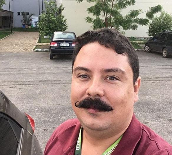 Bushy Shor Handlebar Mustache Style
