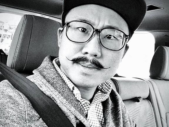 Handlebar Mustache for Chinese Men