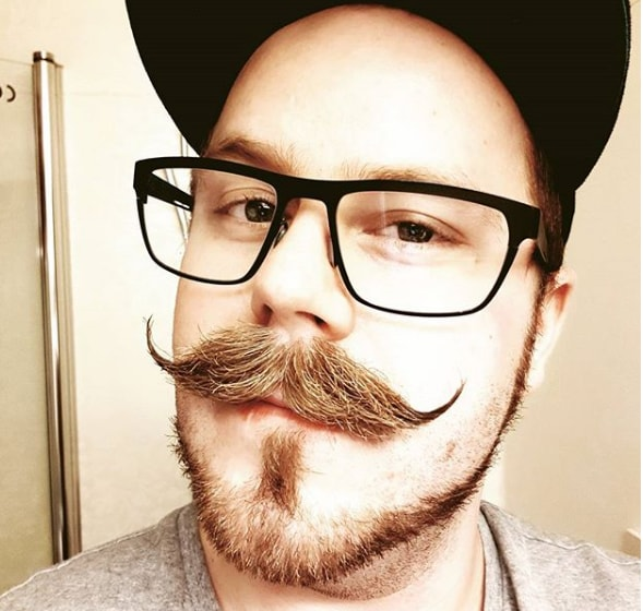 Handlebar Mustache Style for Men