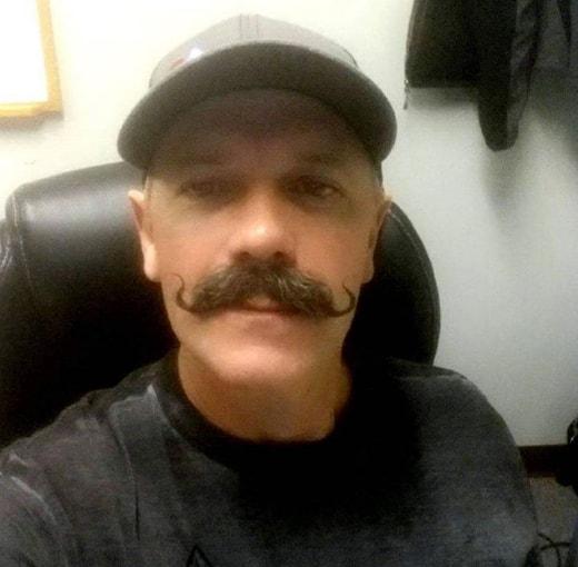 Wavy Up Handlebar Mustache Style