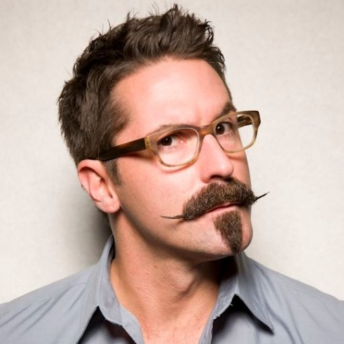 Leveled Ends Handlebar Mustache for Men