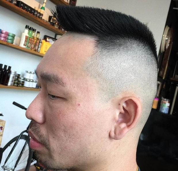 Military Flat Top Men Haircut