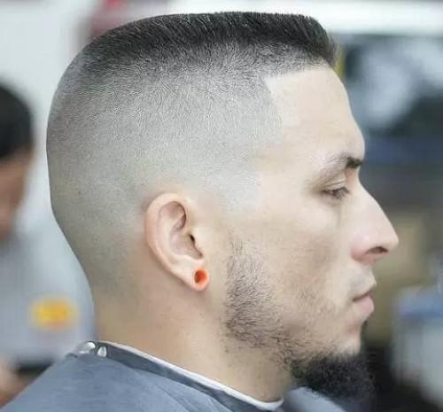 Mini Flat Top Men Hairstyle