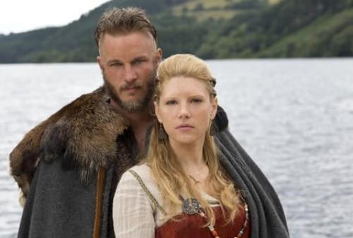 Medium Length Hair On Top With Undercut Ragnar Lothbrok Hairstyle