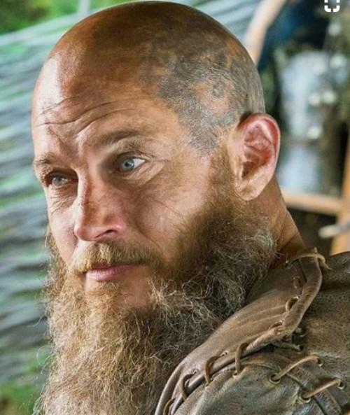 Bald And Beard Ragnar Lothbrok Hairstyle