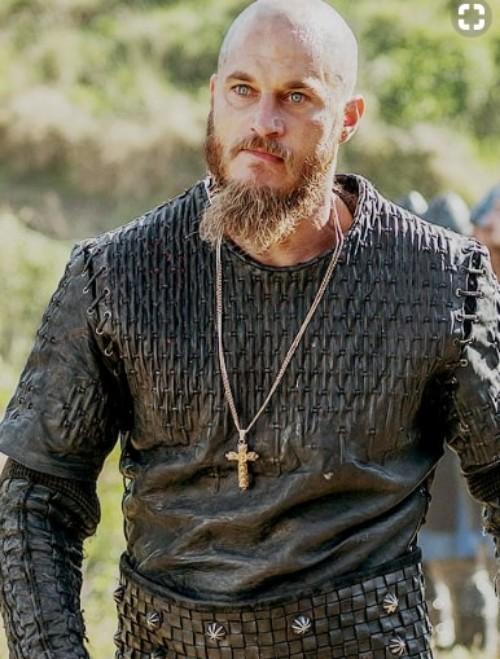 Bald With Short Beard Ragnar Lothbrok Hairstyle