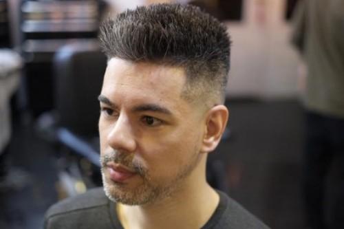 Short Flat Top Men Hairstyle
