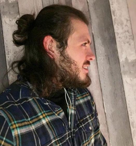 Long Hair With Man Bun