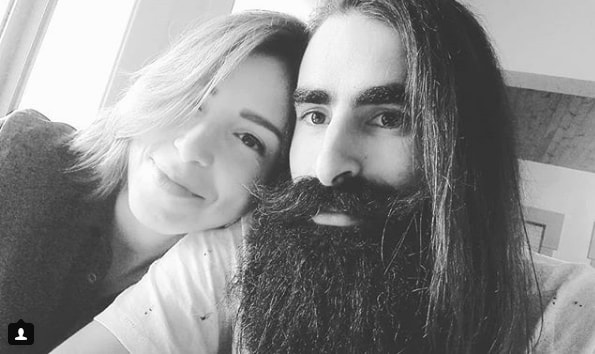 Long Hair With Extravagant Beard & Mustache
