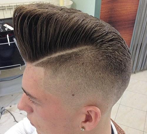 Slanting High Cliff Men Hairstyle