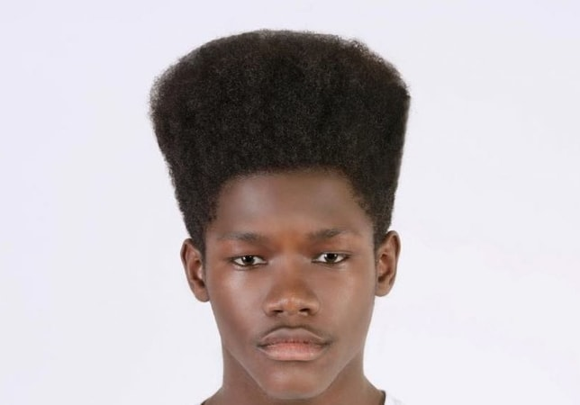 Tallest Flat Top Haircut for Black Men