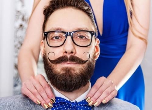 Men Handlebar Mustache