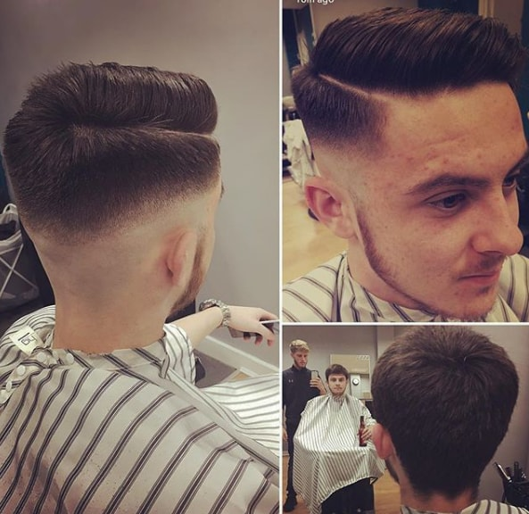 Combover Fade Hairstyle