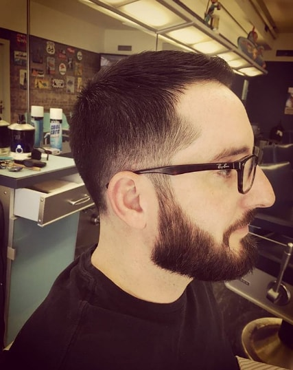 Crew Cut Plus Low Fade