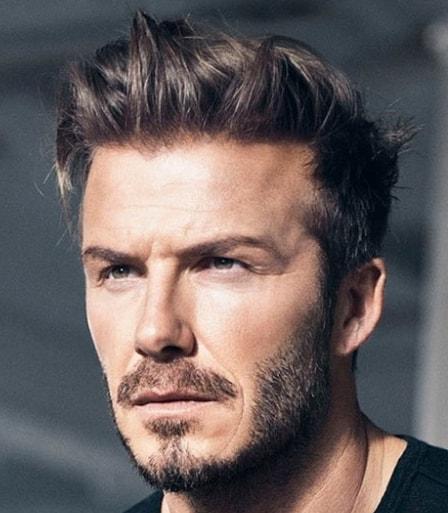 Spiky layered - 105 Best David Beckham Hairstyles