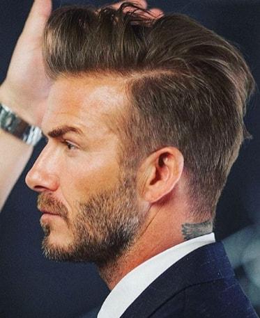 Low Fade David Beckham Hairstyles