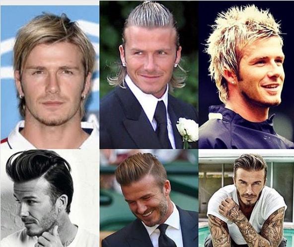 Best David Beckham Hairstyles