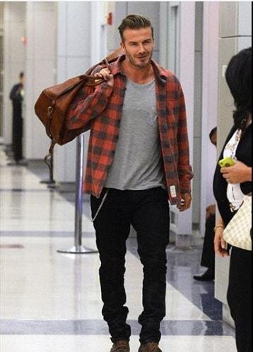 Best Short David Beckham Hairstyle