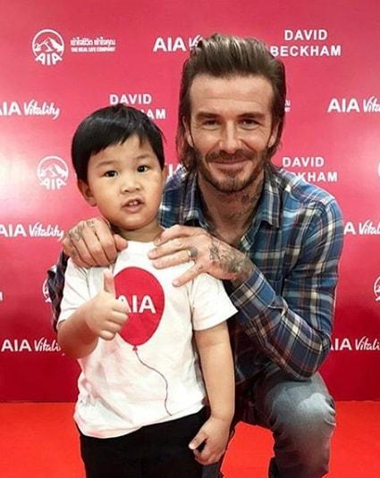 Shoulder Length David Beckham Hairstyle