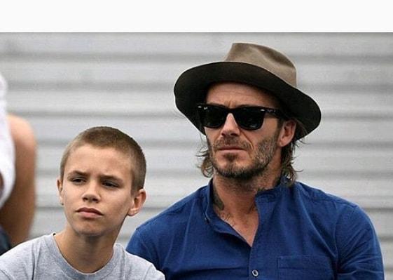 David Beckham Hairstyle 2018