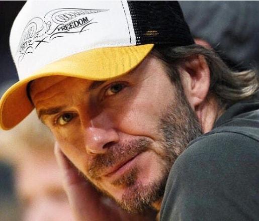 Comb Over - David Beckham Hair with Cap