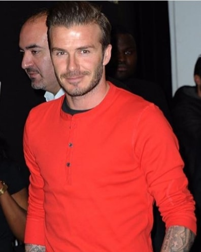 Short David Beckham Hairstyle