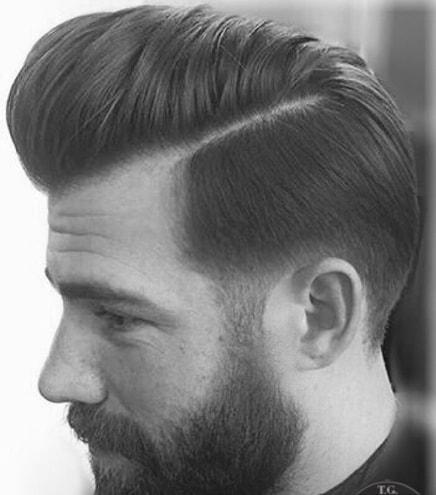 Pompadour - David Beckham Hairstyle