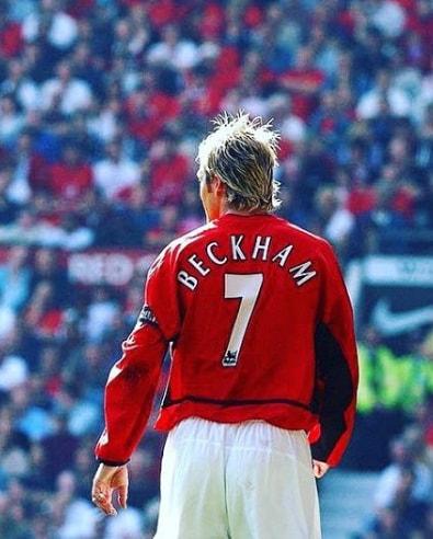 Textured Layered David Beckham Hairstyle