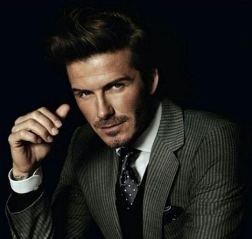 David Beckham Hairstyle 2017