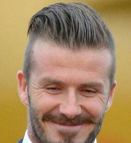 High Fade - David Beckham Hairstyle
