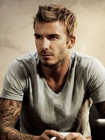 Fohawk - David Beckham Hairstyle